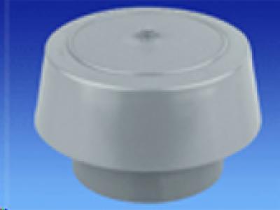 PVC Chapeau Ventilation 80 Gris