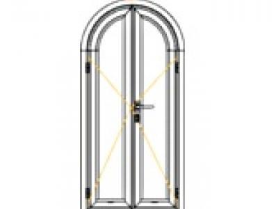 Porte la fran aise ou l 39 anglaise aluminium portes 20497p1 - Porte a la francaise ...
