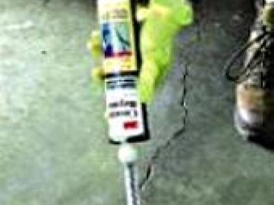 Mastic pour béton 250 ml