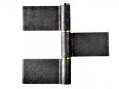 paumelle de grille 3 lames charni res quincaillerie 14060p1. Black Bedroom Furniture Sets. Home Design Ideas
