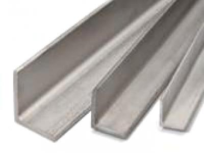 Angleprofiles, equal, stainless steel