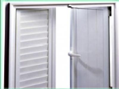 Portes à panneaux PVC