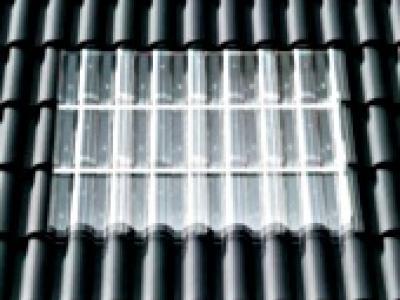 Prismax® tuiles transparentes