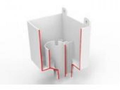 boite eau pvc evacuation des eaux pluviales goutti res 47046p1. Black Bedroom Furniture Sets. Home Design Ideas