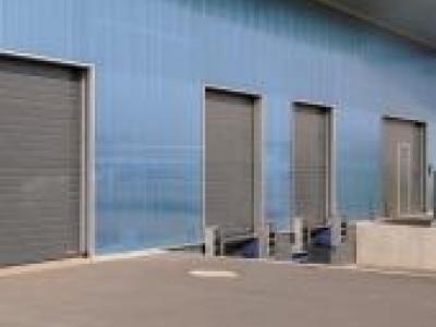 Porte sectionnelle industrielle spu f 42 m tallique portes - Prix porte sectionnelle industrielle ...