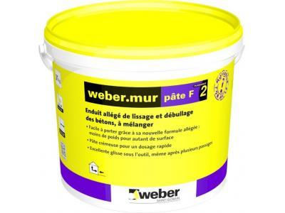 Webermur Pâte F ² Enduit Au Mortier Et Mortier De Chaux 46837p1