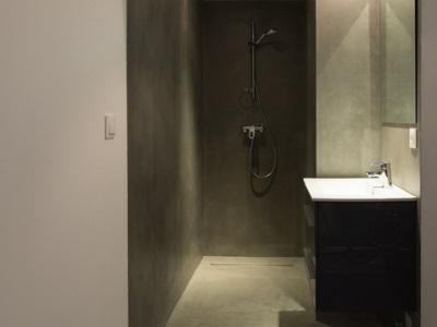 Microbéton pour douches à l'italienne
