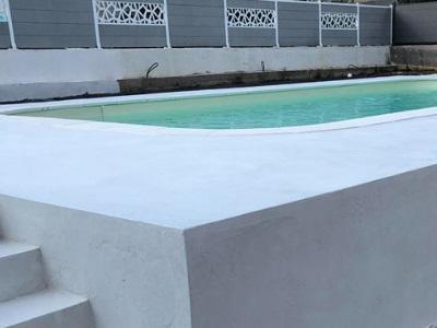 Micro-béton pour terrasses