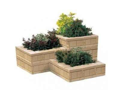 Blocs jardinières granit et jerusalem