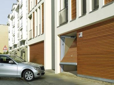 Portes de garage collectif