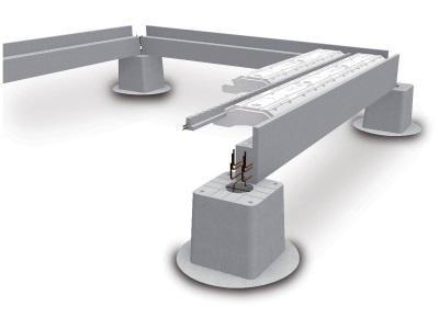 Système d'infrastructures préfabriqués sur Vide Sanitaire