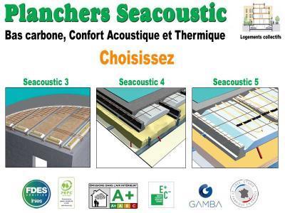 Planchers Seacoustic 3,4,5 choisissez