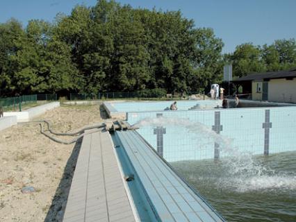Les bassins rénovés dans les règles de l'art