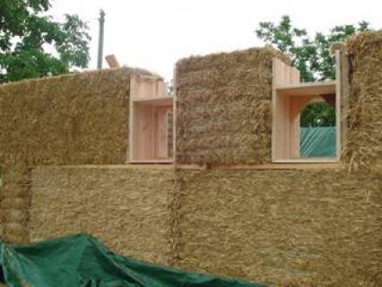 Ecomatériaux : la construction en paille