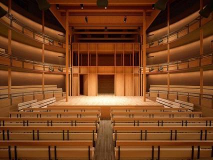 Le théâtre d'Hardelot, meilleure construction en bois dans le monde