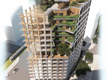 La nouvelle génération des architectes bois voit de plus en plus grand