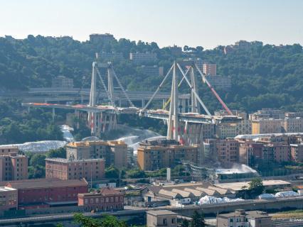 Pont de Gênes : moins de deux ans pour déconstruire et rebâtir