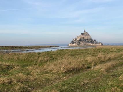 Un important chantier de restauration au Mont-Saint-Michel