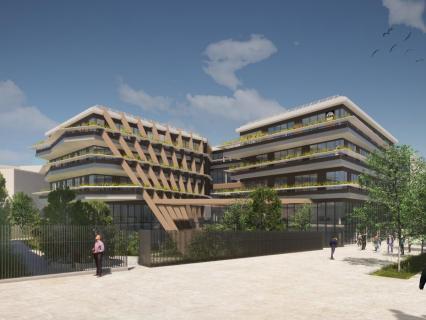 Eiffage va construire le futur siège de Lidl en région parisienne