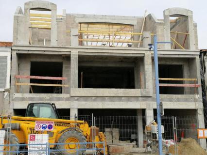 La construction de logements se replie entre novembre et janvier