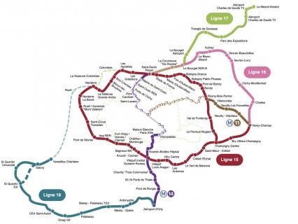 Le retard de deux ans du métro du Grand Paris pour les JO-2024 se confirme