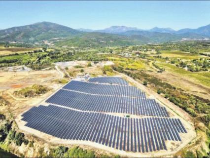 Corsica Sole dote la Corse d'une centrale de stockage d'électricité