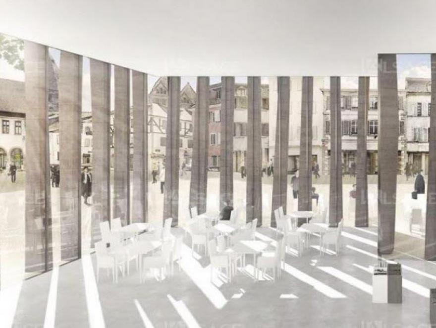 La nouvelle bibliothèque humaniste de Selestat sur les rails