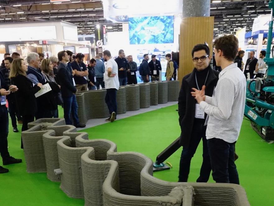 Construction 3D vise les 100 m² en 8 heures en 2020