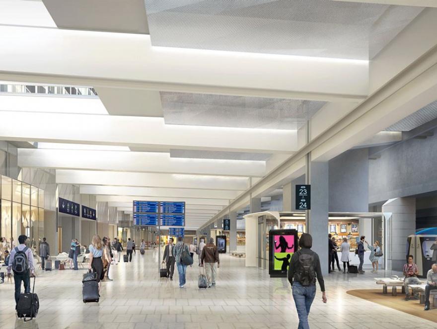 La SNCF a fait rénover la Gare Montparnasse par le privé, sans surcoûts