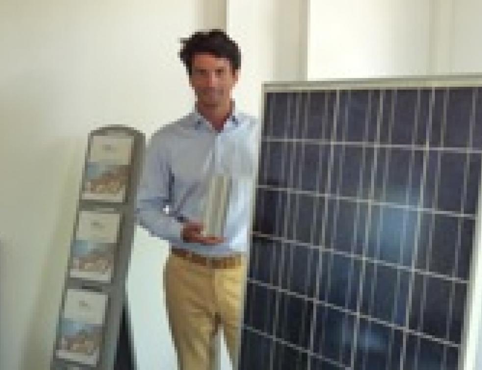 Cet entrepreneur croit en l'avenir du photovoltaïque