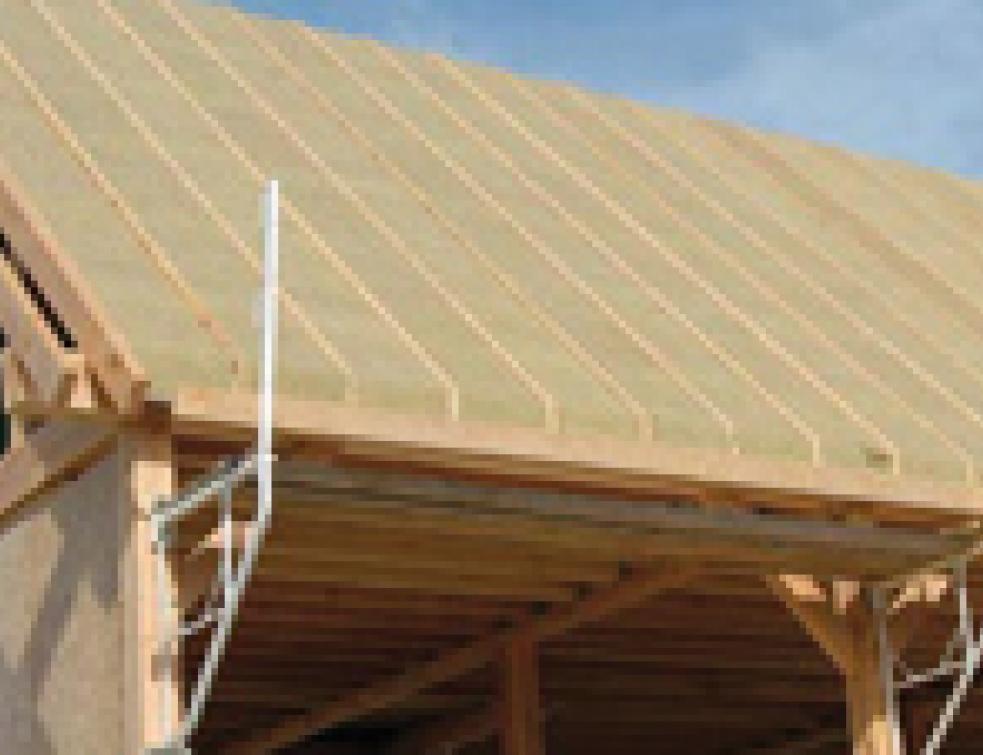 Des panneaux supports de couverture pour isoler par l - Panneaux de separation pour exterieur ...