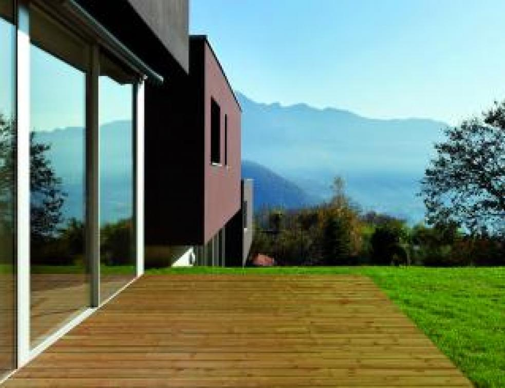 Les terrasses en bois font leur show