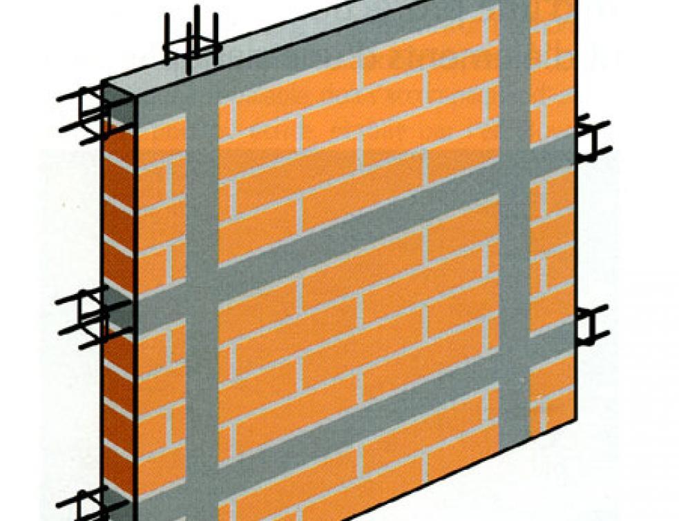 Maçonnerie : éviter les fissures avec les renforts métalliques