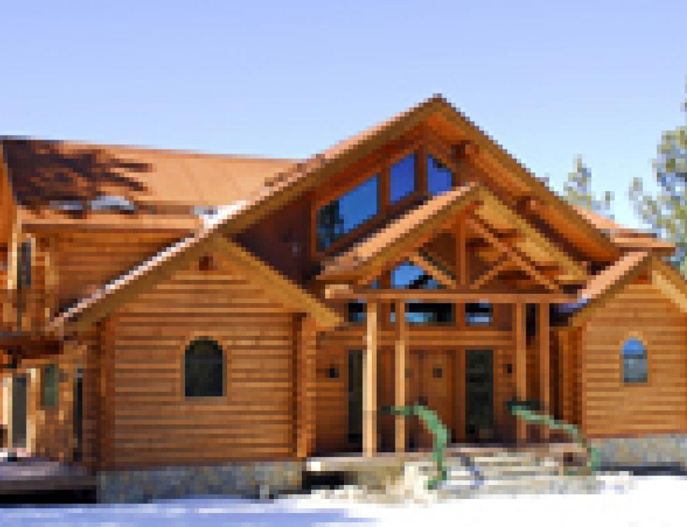 Maison en bois une croissance annuelle qui atteint les 10 for Une maison en bois