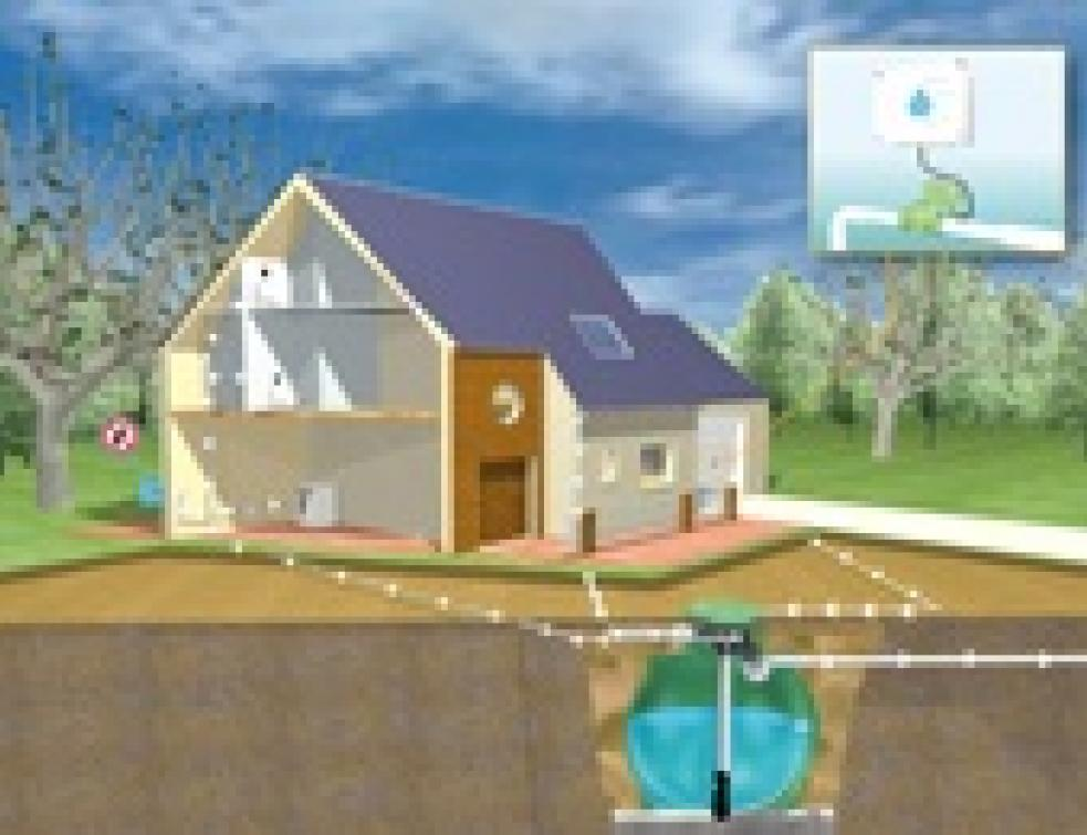 r cup ration d 39 eaux pluviales deux installations possibles. Black Bedroom Furniture Sets. Home Design Ideas