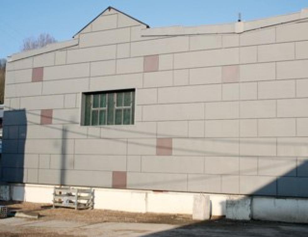 Habiller une façade en zinc