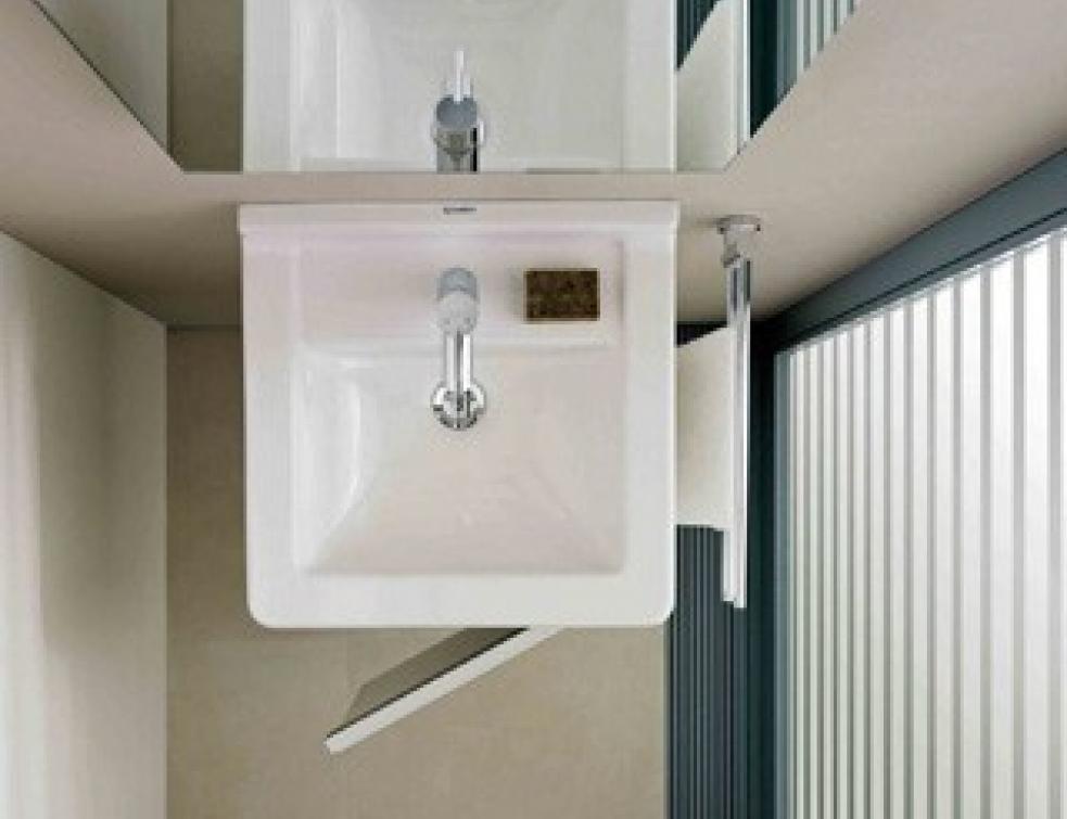 Salle de bains les l ments gain de place solutions equipements - Gain de place salle de bain ...