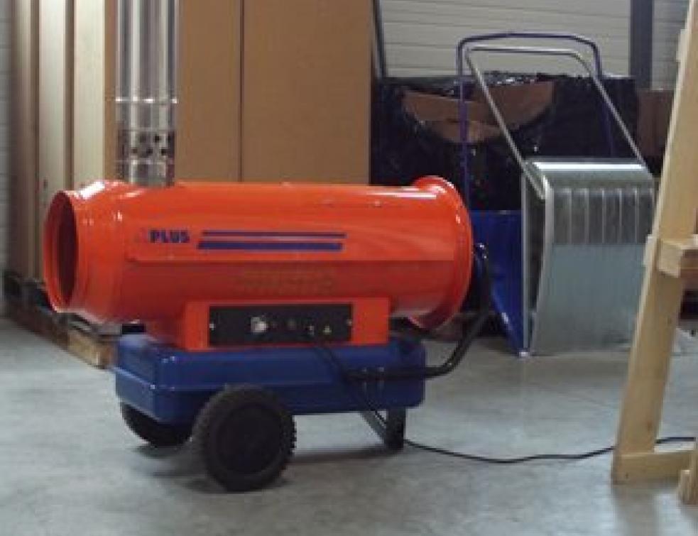 Chauffage de chantier : des systèmes adaptés aux pros