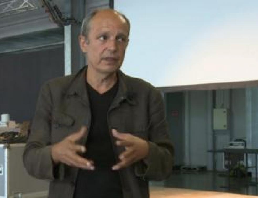 Marc Barani, lauréat du Grand Prix national de l'achitecture