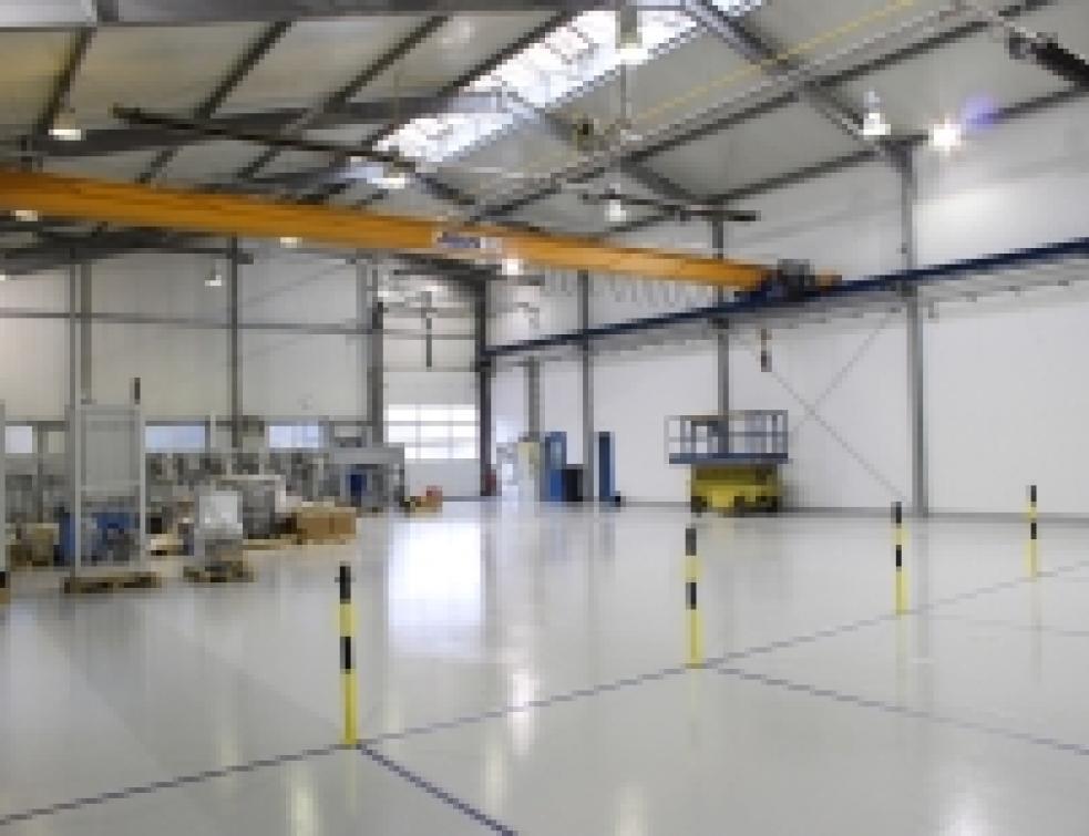 Un hangar rénové et signalisé