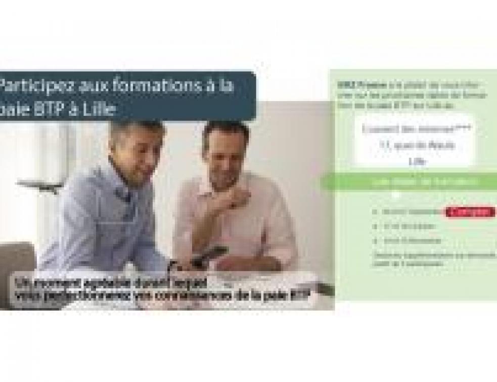 BRZ France organise des formations à la paie BTP à Lille