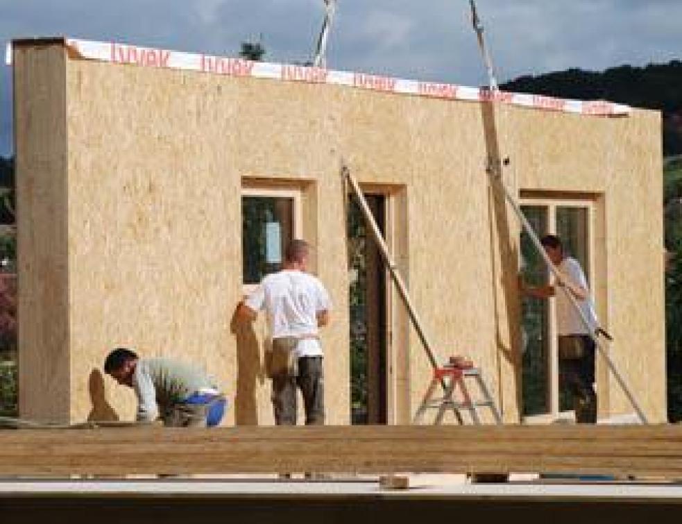 Construction sèche et RT 2012 : l'alternative économique