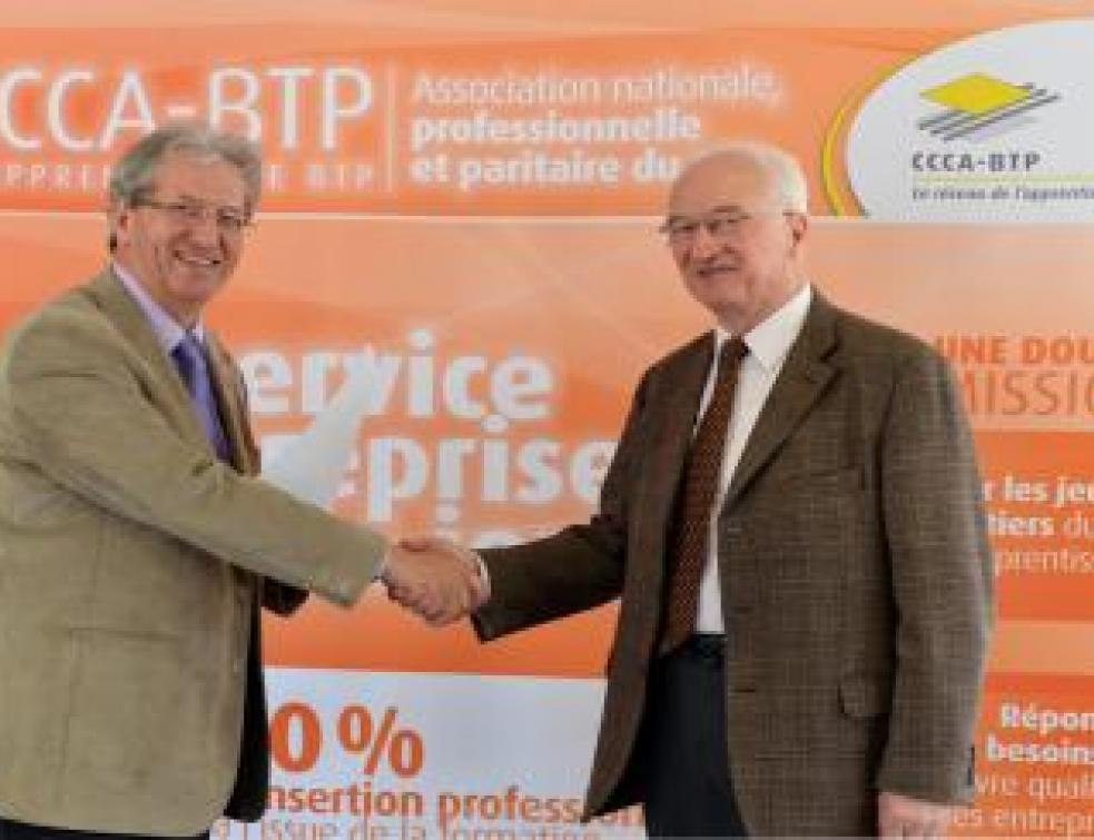 Olympiades des métiers : partenariat renouvelé avec le CCCA-BTP