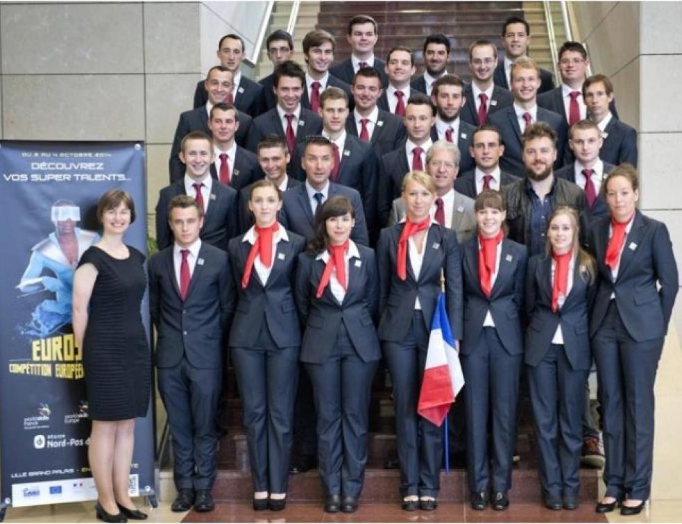Ces jeunes Français vont se frotter à leurs homologues européens
