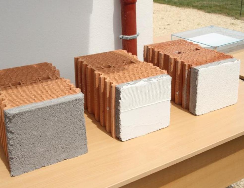 Innovation : une ITE avec de l'aérogel de silice…