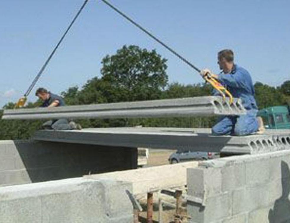 NF DTU 23.2 - Planchers à dalles alvéolées préfabriquées en béton
