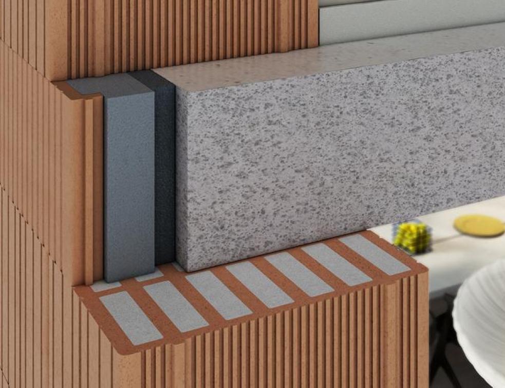 BAU 2015 : Briques monomur avec isolation intégrée !