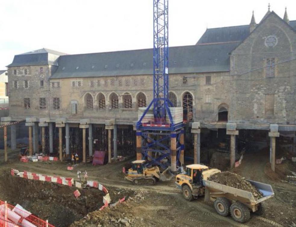 Un centre de congrés construit sous un ancien couvent