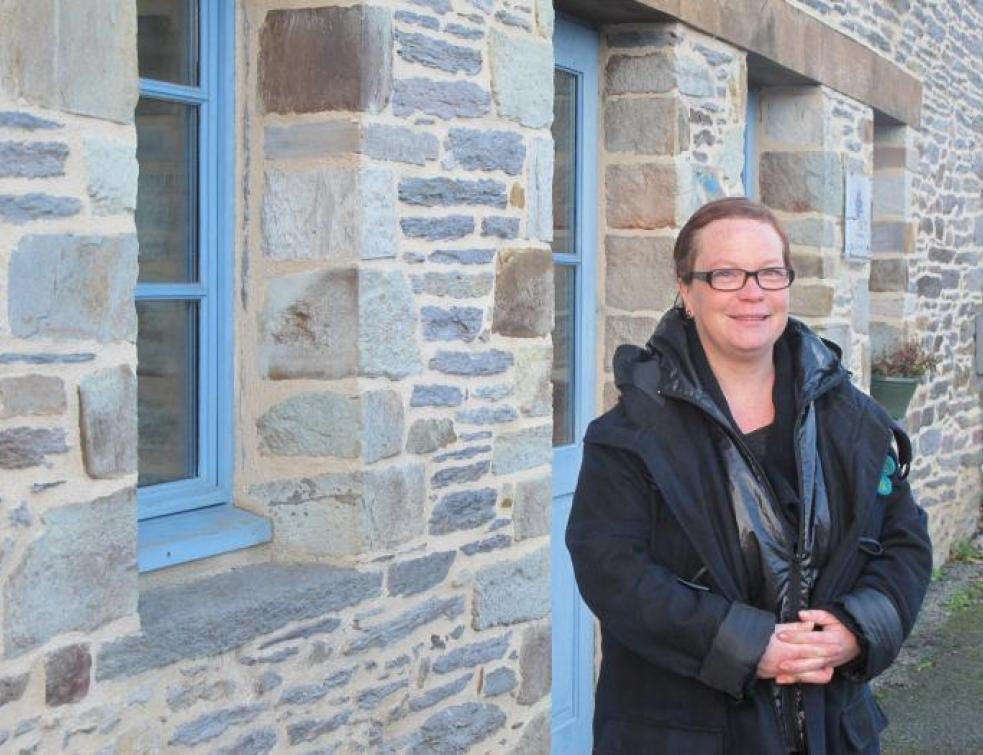 Elle milite pour une rénovation plus respectueuse du patrimoine bâti
