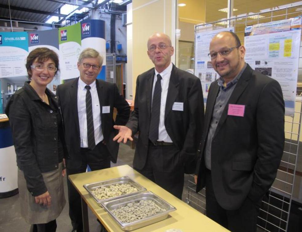 VM béton inaugure une chaire à l'école centrale de Nantes